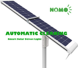 Self Cleaning Solar Powered Parking Lot Lights MPPT Controller Auto ON / OFF
