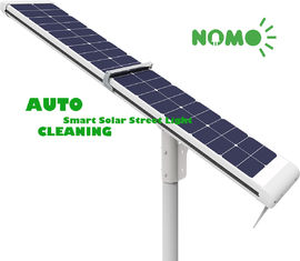 Solar Powered Remote Control Street Light , White Motion Sensor Street Lights