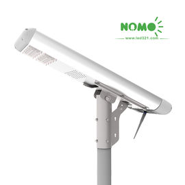 2000 LM Wireless Motion Sensor Street Lights AL Material Over 21% Transfer Rate