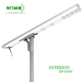 China Smart Solar Led Street Light 6 To 8 Meter Height 2700-6500 K Color Temperature supplier