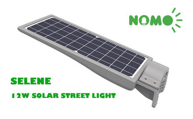 Waterproof All In One Solar Led Garden Lights , Ip65 15 Watt Led Street Light