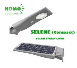 Safety Intelligent Solar Powered Led Street Lights 600 Lm Output For Highway