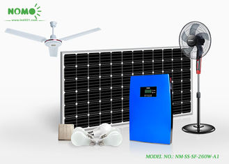 Energy Saving Off Grid Solar Panels , 768 WH Solar Power System For Home