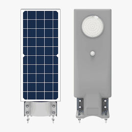 Motion Sensor Solar Powered Street Lights 1800 LM With LiFePO4 Battery