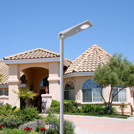 Mono Crystalline All In One Integrated Solar Street Light IP65 3 Years Warranty