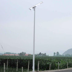 China Cool White Solar Powered Led Street Lights IP 67 High Lumen Low Power Consumption supplier