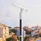 6 Meters Pole Solar Powered Street Lights Smart Control System Option 12000 Lumen