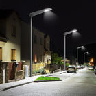 All in one solar garden light PIR motion sensor with remote control  street solar lights