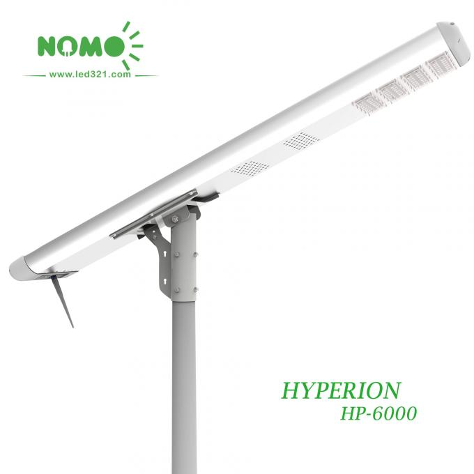 Waterproof Road Street Light , Solar Led Street Lamp OD 60-80 Millimeter