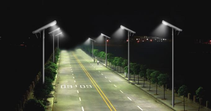 Smart LED Outdoor All In One Lightweight Solar Street Light Fittings
